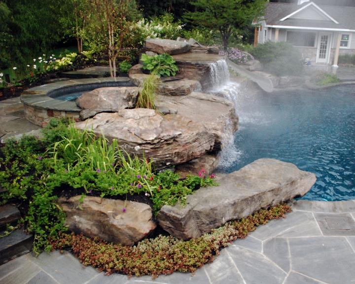 Ландшафтный дизайн камни и скалы